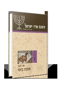 משנת ארץ ישראל – מסכת ביצה